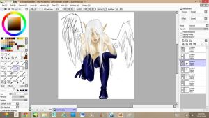getting there..... by Kuri-Chan15