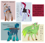 (AUCTION) 100 Themes MLP adopts (11-14) by LillyCheese