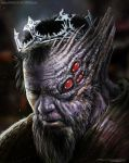 Fallen king by AtomiccircuS