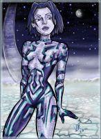 Cortana by LisaDaTimberwolf