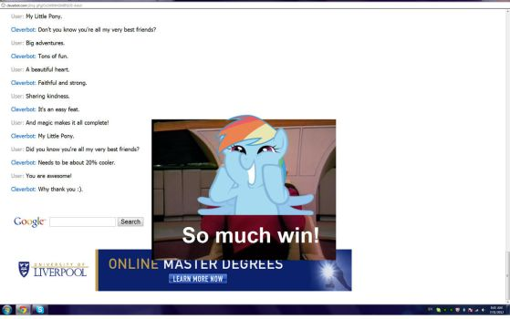 CLEVERBOT IS A BRONY! by DemoMare
