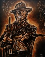 Zombie Clint Eastwood by VanZanto