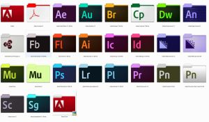 Adobe CC Folders by miamijunge