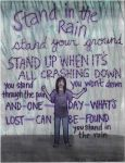 Stand in the rain by thehugsmonster