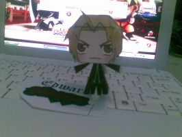 edward elric papercraft by Grim-paper