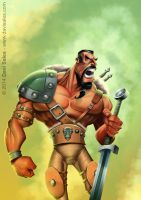 The Barbarian by davisales
