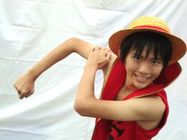 Luffy Cosplay by anarchy1203