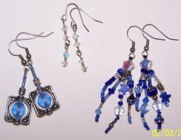 Earrings 6 by solitarymuse