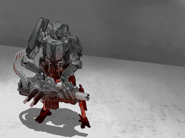 Gunner Mecha by LeM0N-head
