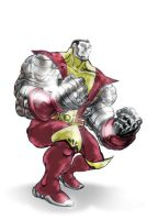 Colossus - X-man by mthemordant