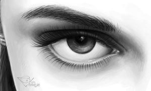 Detail of eye by e-volos