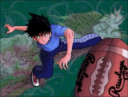 Eyeshield 21:  CATCH by lauraneato