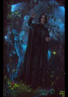 Goodbye... (RIP Alan Rickman) by Nikulina-Helena