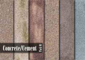 Concrete and Cement Textures by Sammali