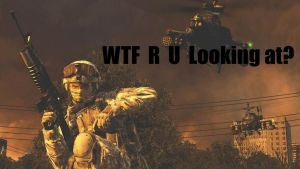 That guy on Modern Warfare by NationCrusher