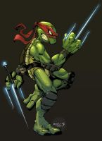 Ninja Turtle :: Raphael by Red-J