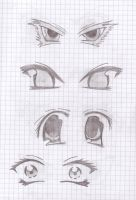 Manga eyes by Sevowen