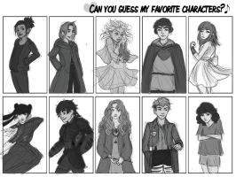 Can You Guess My Favorite Characters? by Kosamy