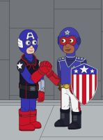 American Soldier and Patriot by MCsaurus