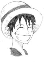 Monkey D. Luffy by Loopy-Lass