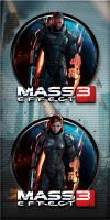 Mass Effect 3 by kraytos