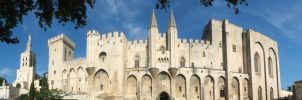 Palais des Papes by angelofdisaster