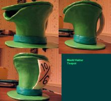 Madd Hatter teapot by CrazyKitty