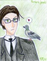 William and Pigeon by takara-jewels