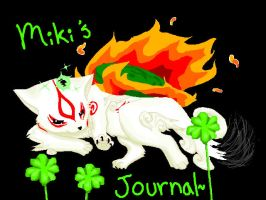 Okami-journal header? by haine905