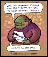 Nerk: Thank You by Kat-Nicholson
