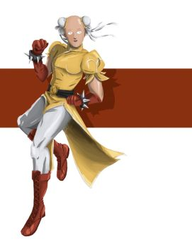 One Punch Man by pirouchan