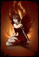Fire fairy by o0oO-araceli-Oo0o