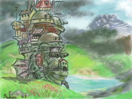 Howls Moving Castle Fini by soopa-boombox-rox