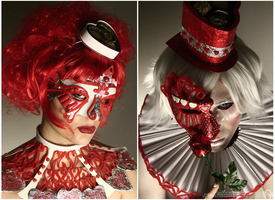 Valentine's Day Cosplay: The Harlequin + Columbina by Nobodyyyyy
