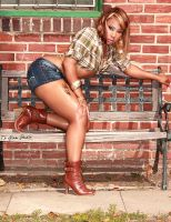 Rose Daisy Dukes by TLGlamStudio