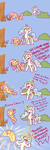 Celestia Helps Fluttershy Overcome Her Troubles by poptart36