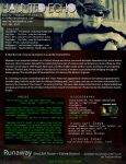 Haunted Echo onesheet 03/21/13 by HaloAskewEnt