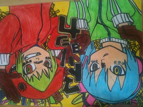 miku and Gumi- Matryoshka by klaudia120899