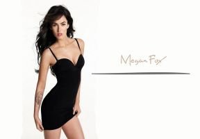 Megan Fox 3 by ArtSlash13