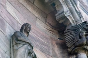 Scotland - Edinburgh: May the Saints Watch over Us by Aylanna