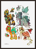 Ponies for Jahpan by Endber