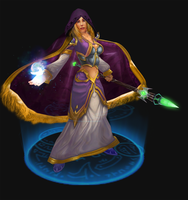 Jaina Proudmoore by Lost-In-Concept