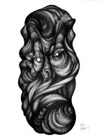 Deformed thought (sold) by RedTweny