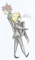 TOGAMI and NAEGI by TwilightTears446