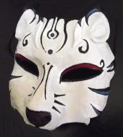 White Wolf Mask by Namingway