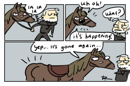 The Witcher 3, doodles 186 by Ayej