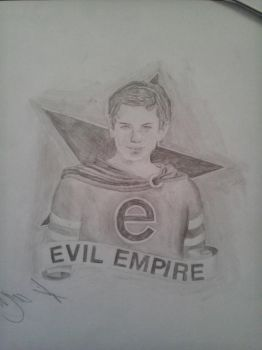 Evil Empire drawing by PoinTool