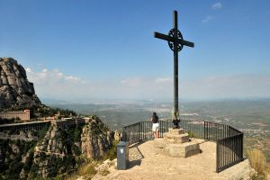 Cross above Montserrat 1 by wildplaces