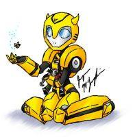 :Sweet little Bumblebee: by peanutchan