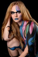 Ellee Brushed Body Paint IV by oldmacman